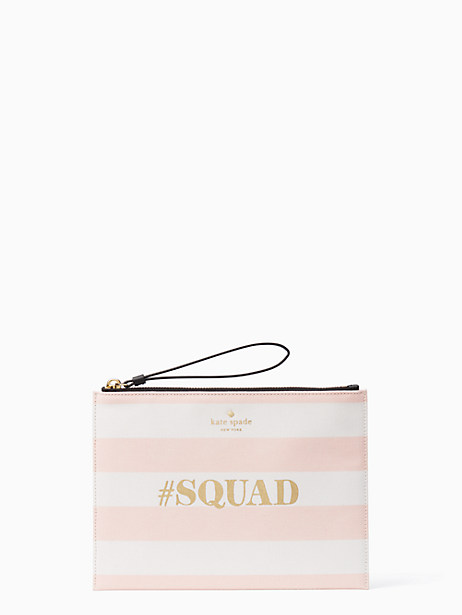 wedding belles squad medium bella pouch by kate spade new york