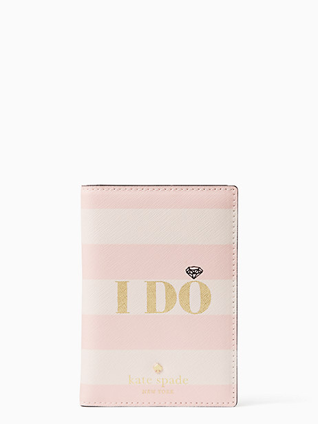 wedding belles i do i did passport holder by kate spade new york