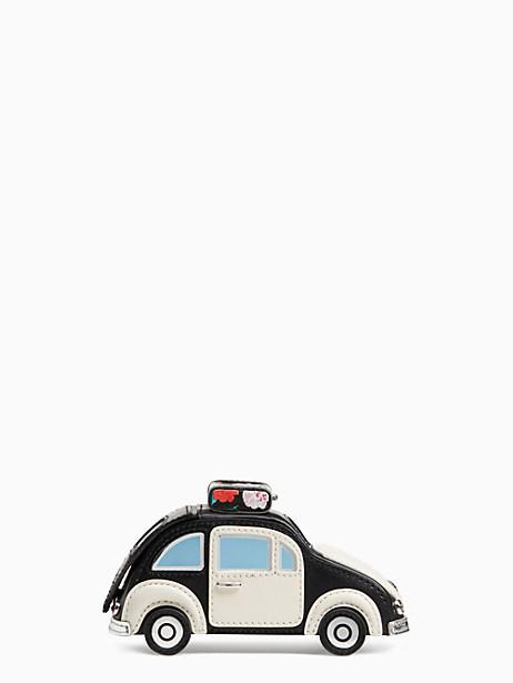 Kate Spade scenic route 3D car coin purse, Black