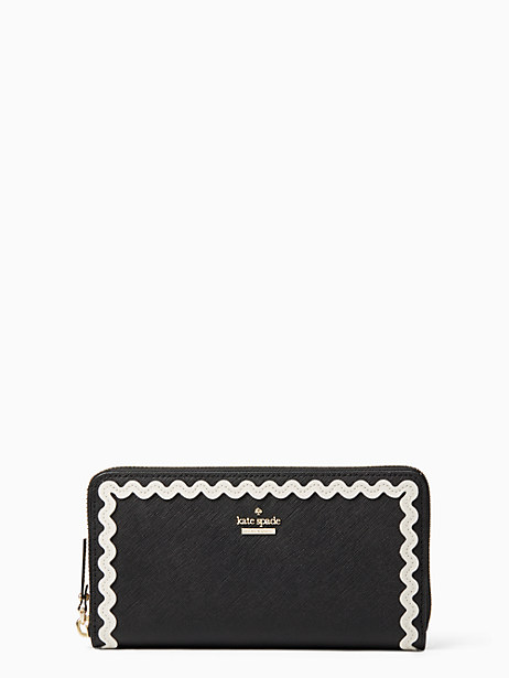 Kate Spade Devin Court Lacey, Black/Cement