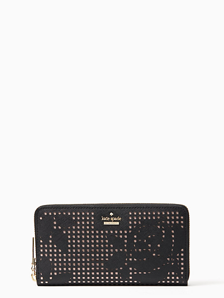 Kate Spade Cameron Street Perforated Lacey, Black