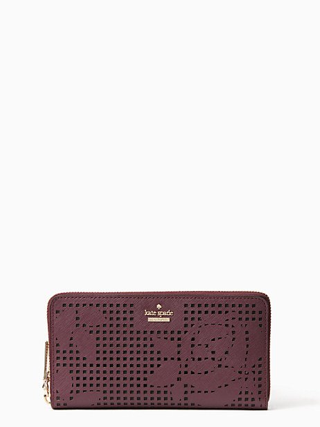 Kate Spade Cameron Street Perforated Lacey, Deep Plum