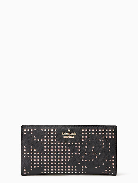 Kate Spade Cameron Street Perforated Stacy, Black
