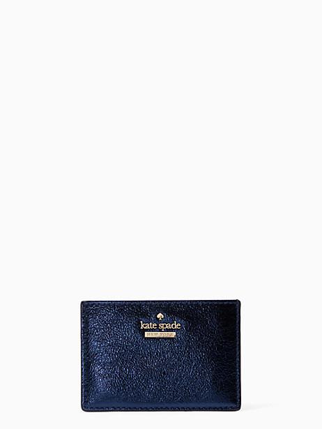 Kate Spade Highland Drive Card Holder, Sapphire
