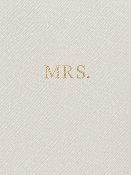 wedding belles mrs passport holder by kate spade new york