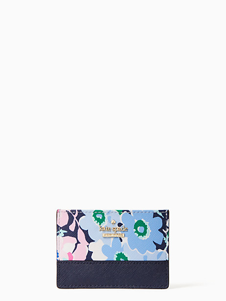 cameron stret daisy garden card holder by kate spade new york