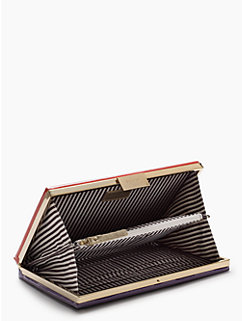 the importance of being earnest book clutch