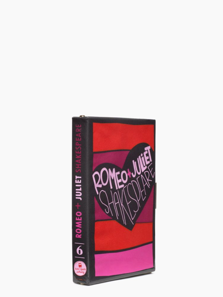 romeo & juliet book clutch