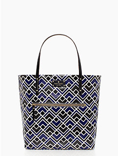flicker fabric bon shopper