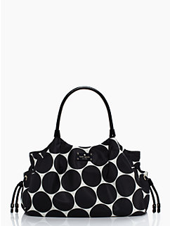 deborah dot nylon stevie baby bag