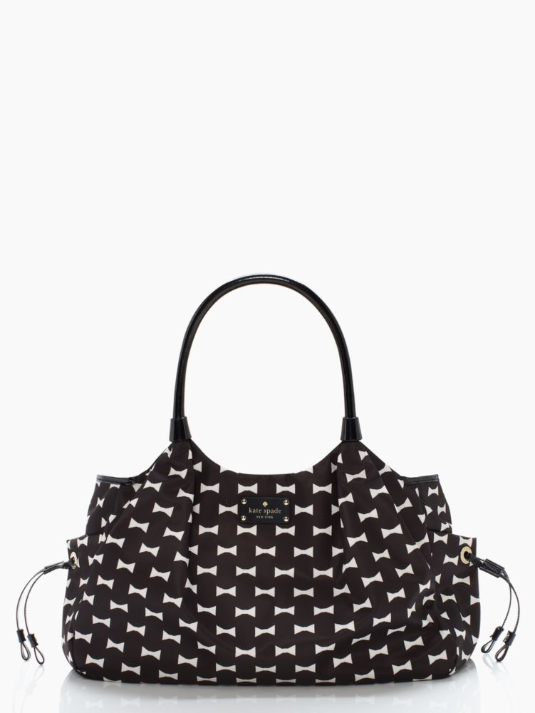 bow shoppe stevie baby bag