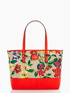 grove court floral harmony baby bag