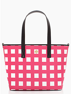 checker place harmony baby bag