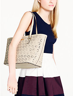 cedar street perforated small harmony by kate spade new york