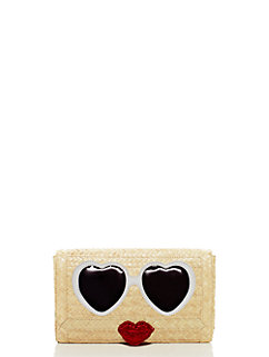 splash out sunglasses clutch by kate spade new york