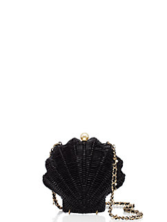 splash out wicker clam shell by kate spade new york