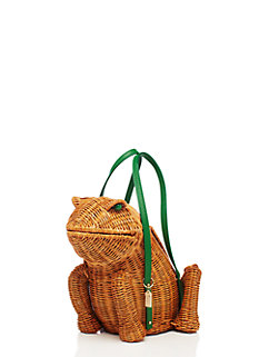 spring forward wicker frog by kate spade new york