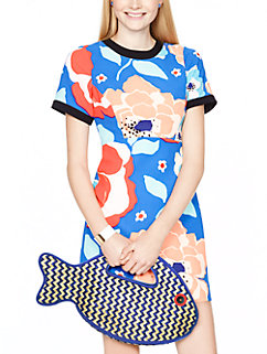 splash out fish tote by kate spade new york