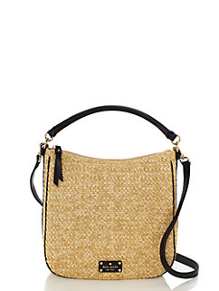 cobble hill straw small ella by kate spade new york