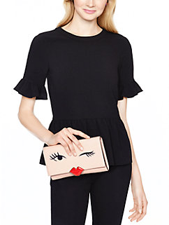 love birds wink clutch by kate spade new york
