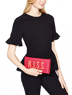love birds K.I.S.S. tally by kate spade new york