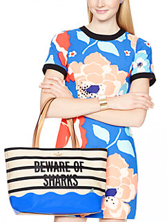 splash out beware of sharks francis by kate spade new york