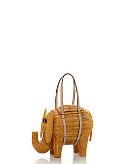 strut your stuff wicker elephant by kate spade new york