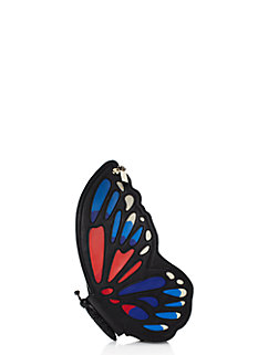 wing it leather butterfly clutch by kate spade new york
