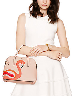 strut your stuff flamingo applique maise by kate spade new york