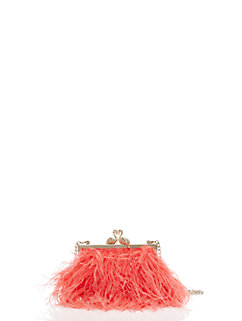 madison flamingo clasp clutch by kate spade new york