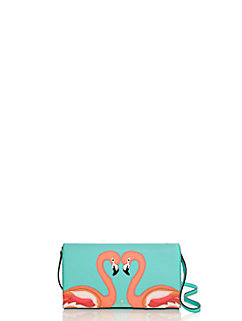 strut your stuff flamingo applique cali by kate spade new york