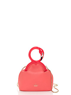 strut your stuff kissing flamingos clutch by kate spade new york