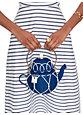 down the rabbit hole wicker teapot, teapot blue