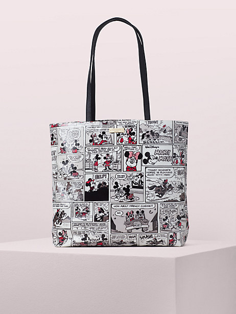 kate spade new york for minnie mouse comic tote by kate spade new york