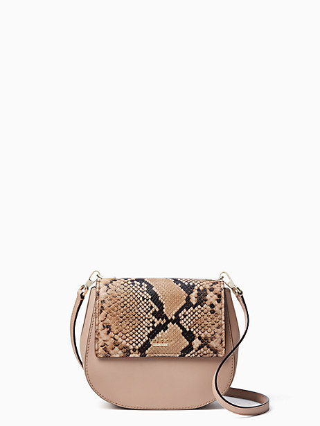 Kate Spade Cameron Street Snake Small Byrdie, Toasted Wheat
