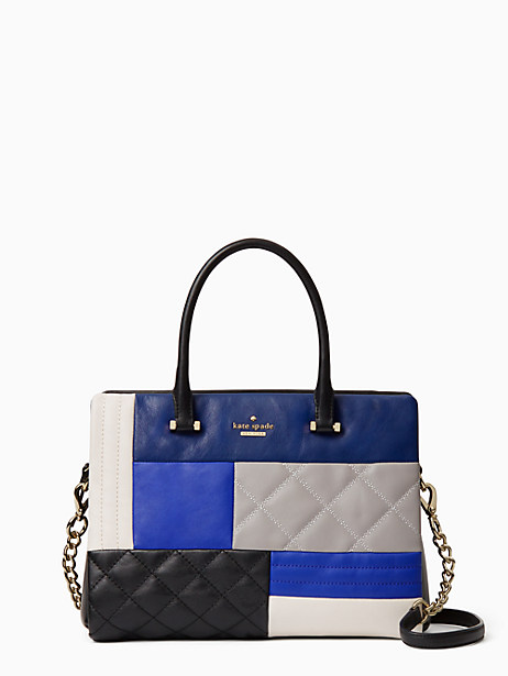 Kate Spade Emerson Place Patchwork Olivera, Sapphire