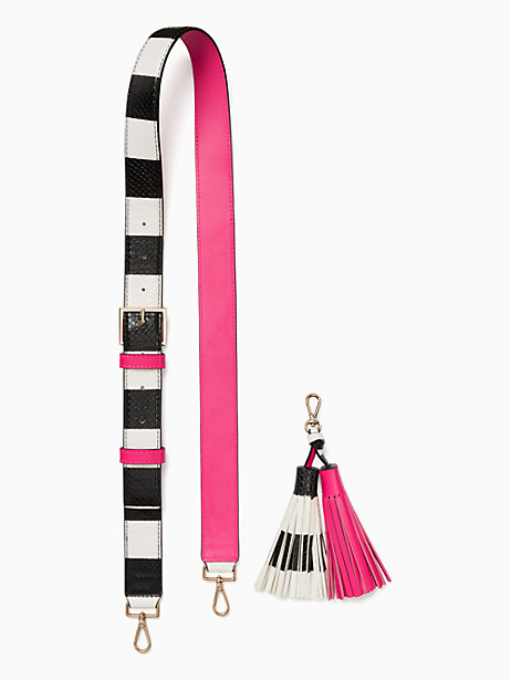 Kate Spade Mix It Up Strap Tassel Pack, Pink Confetti