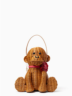 rambling roses wicker monkey by kate spade new york