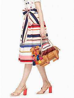 spice things up wicker camel by kate spade new york