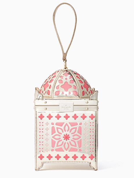 Kate Spade Rambling Roses Lantern Bag, Rose Gold