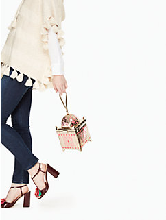 rambling roses lantern bag by kate spade new york