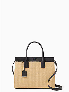 cameron street straw candace satchel by kate spade new york