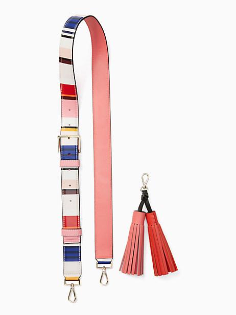 Kate Spade Mix It Up Strap/tassel Pack, Stripe
