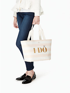 wedding belles i do i did tote by kate spade new york
