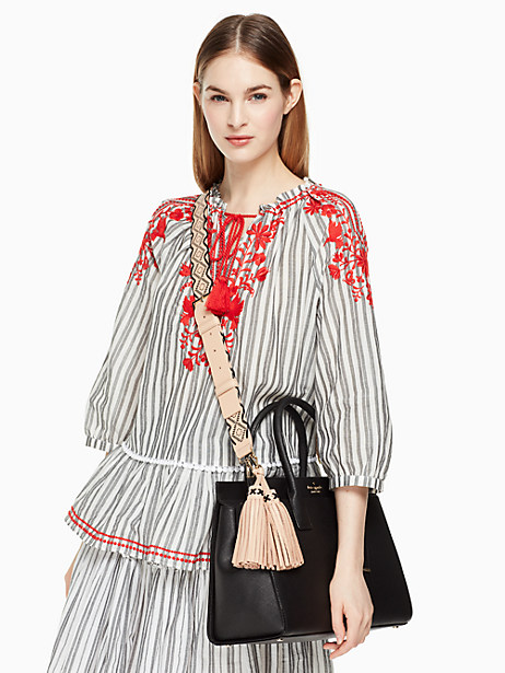 mix it up woven strap/tassel pack by kate spade new york