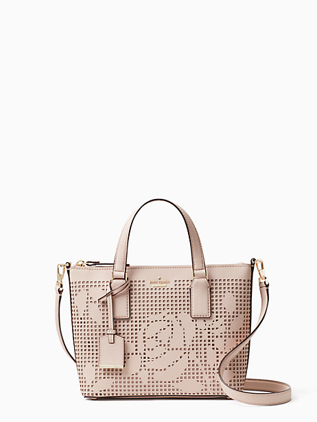 Kate Spade Cameron Street Perforated Lucie Crossbody, Dolce