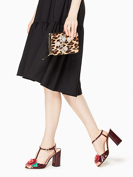 evening belles zurie with flower gem by kate spade new york