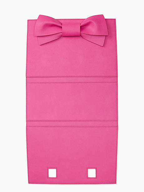Kate Spade Make It Mine Bow Candace Wrap, Vivid Snapdragon