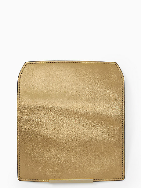 Kate Spade Make It Mine Metallic Pebble Flap, Gold