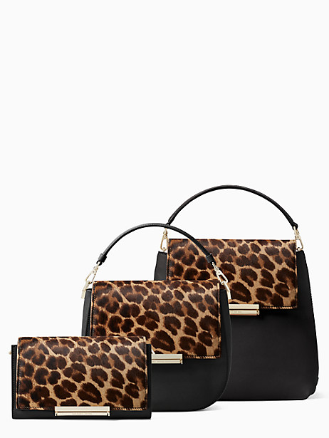 make it mine leopard-print haircalf flap by kate spade new york